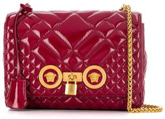 Versace Medusa foldover shoulder bag