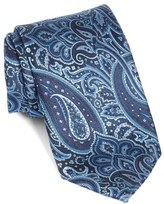 BOSS Paisley Floral Woven Silk Tie