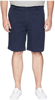 Polo Ralph Lauren Big & Tall Big Tall Stretch Flat Shorts (Nautical Ink) Men's Shorts