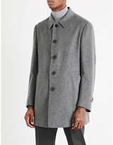 Corneliani Single-breasted Cashmere Coat
