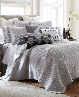 Levtex Home Carlisle Gray Twin Quilt Set