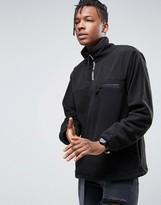 Stussy Fleece Sweatshirt With Zip Taping