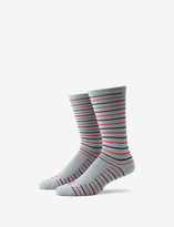 Tommy John Skinny Stripe Performance Dress Sock