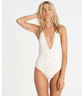 Billabong Women's At Sea Embroidered One Piece Swimsuit