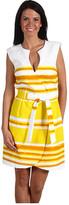 Trina Turk - Linka Horizon Stripe Jacquard Dress
