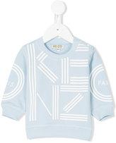 Kenzo printed sweatshirt - kids - Cotton - 6 mth