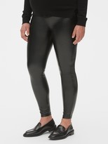 Gap Maternity Full Panel Faux-Leather Leggings