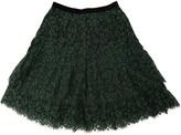 Erdem Green Cotton Skirt for Women