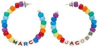 Marc Jacobs Multicolor Toy Blocks Hoop Earrings