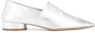 Maison Margiela Shiny Pointed Toe Loafers