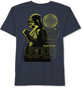 Star Wars Darth Vader Blue Print T-Shirt, Big Boys (8-20)