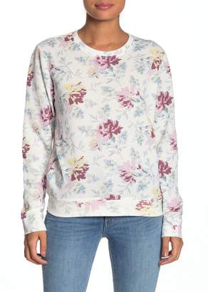 Lucky Brand Floral Print Sweatshirt