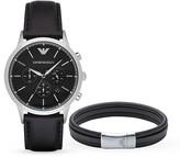 Emporio Armani Renato Watch, 43mm & Bracelet Set