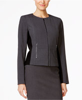 Calvin Klein Fit Solutions Zip-Front Side-Panel Jacket, Only at Macy's