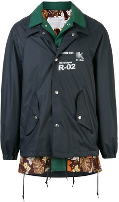 Kolor Short Layered Rain Jacket