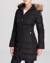 Parajumpers Light Long Bear Coat with Fur Hood