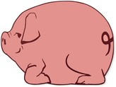 Williams-Sonoma Williams Sonoma Kids Hardmat, Pig