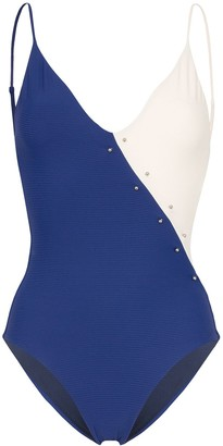 Onia Jacque barbell swimsuit