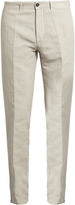 Massimo Alba Winch linen-blend trousers
