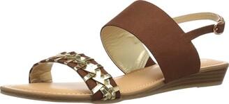 Carlos by Carlos Santana Women's TEX Wedge Sandal Mustang 11 Medium US
