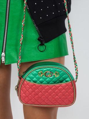 Gucci Metallic Leather Mini Bag