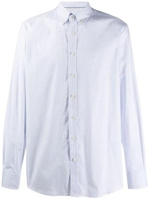 Hackett check pattern shirt