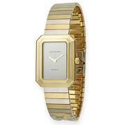 Harry Winston Classic 222 18K Yellow And White Gold Womens Watch