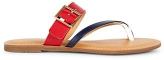 Tommy Hilfiger Lahyla Toe-Loop Flat Sandals