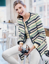 Boden Eve Stripey Coat