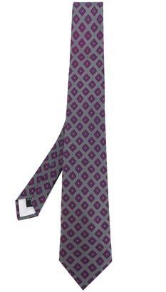 Guy Laroche Pre Owned 1980's Geometric Pattern Tie