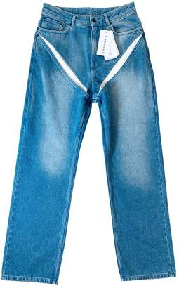 Y/Project Blue Denim - Jeans Jeans