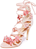 Marchesa Gianna Caged Sandals