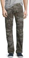 True Religion Rocco Camouflage Moto Denim Jeans