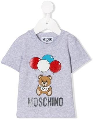 MOSCHINO BAMBINO balloon print T-shirt