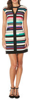 Laundry by Shelli Segal Multicolor Striped Dress
