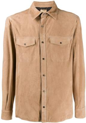 Ajmone long sleeve button down shirt