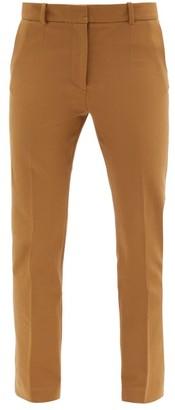 Joseph Coleman Stretch-gabardine Cropped Trousers - Camel