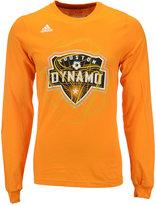 adidas Men's Long-Sleeve Houston Dynamo Prime Time T-Shirt