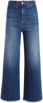 Alice + Olivia Jeans Gorgeous Coin Pocket Gaucho Jeans