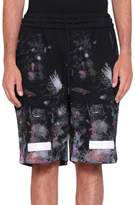 Off-White Galaxy Brushed Cotton Shorts
