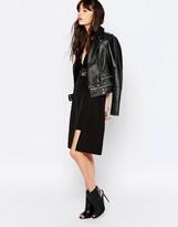 Just Female Hattie Skirt in Black