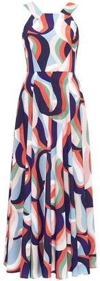 Damsel in a Dress Caprice Printed Maxi Dress