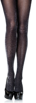 Leg Avenue Black & Silver Glitter Tights