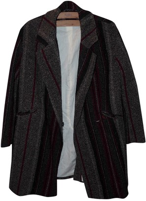 Swildens Multicolour Wool Coat for Women