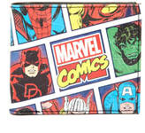 Marvel Multi-Character Slimfold Wallet with Money Clip 2-Piece Set