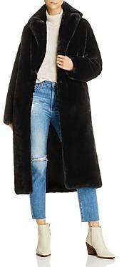 Anine Bing Ruth Faux-Fur Coat