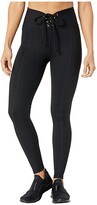 YEAR OF OURS Ribbed Football Leggings (Black) Women's Casual Pants