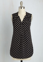 JANTEX INTERNATIONAL LIMITED Girl About Scranton Tunic in Polka Dots