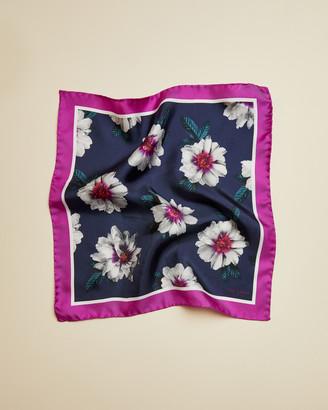 Ted Baker HILFORD Floral silk pocket square