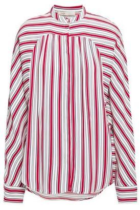 Maje Striped Twill Top